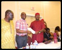 Swearing In Ceremony of Ozubulu-USA Executive Members - Huston 2015